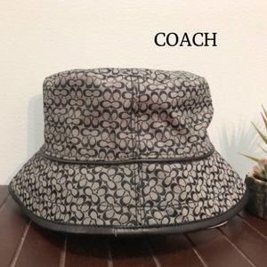 Coach Mini Signature Crusher Hat